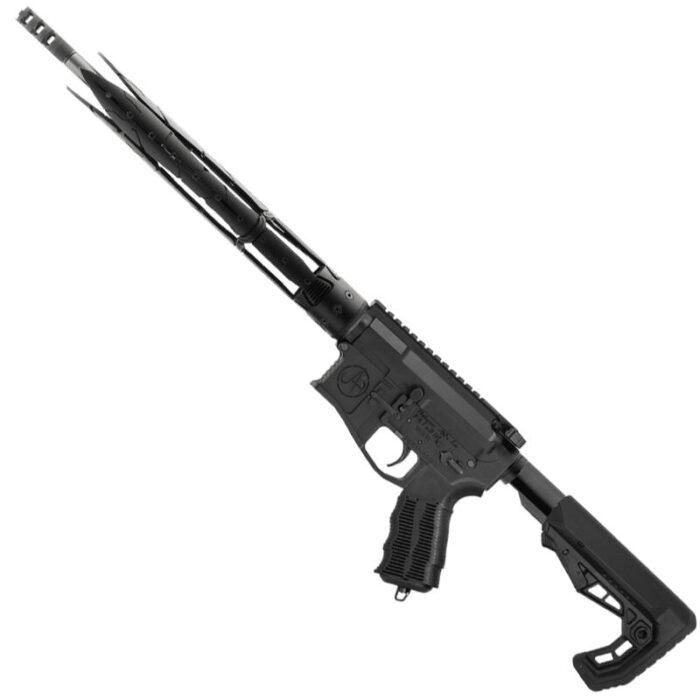 "Unique-ARs Swords-15 .223 Wylde AR-15 Semi Auto Rifle 16"" Barrel 30 Rounds Free Float Forend Carbine Stock Matte Black"