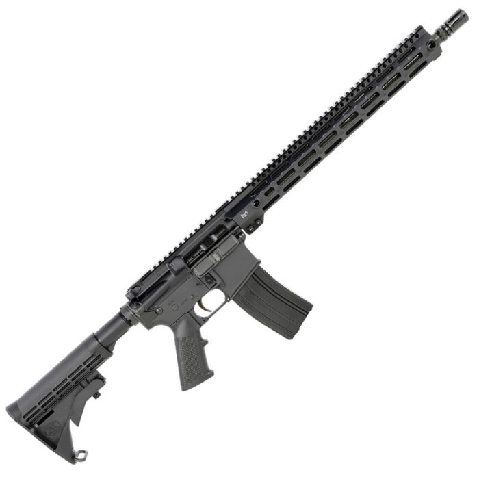 """FN Herstal FN 15 SRP G2 5.56 NATO AR-15 Semi Auto Rifle 16"""" barrel 30 Rounds Free Float M-LOK Forend Carbine Collapsible Stock Matte Black"""