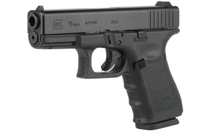 Glock 19 Gen4 9mm 15-Round Pistol