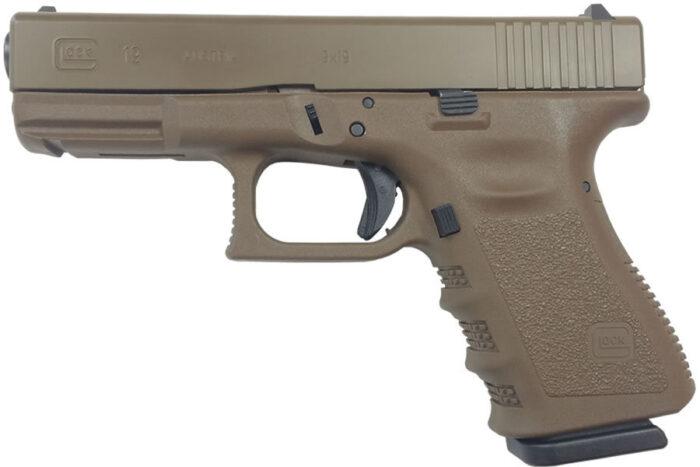 Glock 19 Gen3 9mm 15-Round OD Green Pistol
