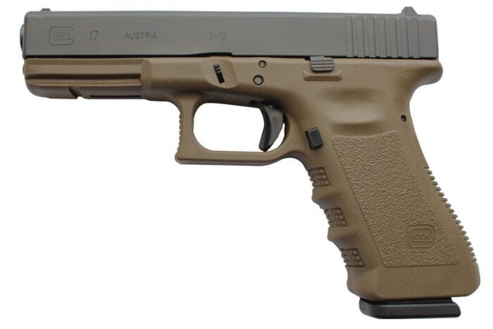 Glock 17 Gen3 9mm 17-Round Flat Dark Earth Pistol