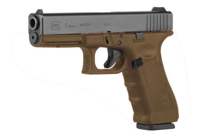 Glock 17 Gen4 9mm 17-Round Flat Dark Earth Pistol