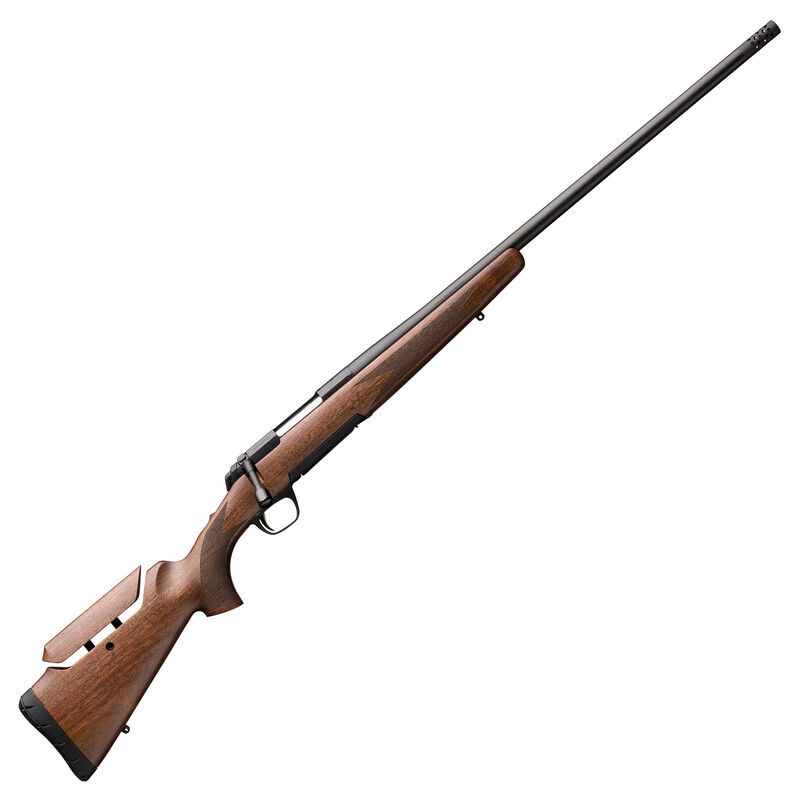 "Browning X-Bolt Hunter LR 6.5 PRC Bolt Action Rifle 24"" Barrel 3 Rounds Detachable Rotary Magazine Walnut Checkered Stock Matte Blued Barrel"