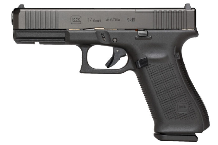 Glock 17 MOS Gen5 9mm Pistol with Front Serrations (10 Round Model)