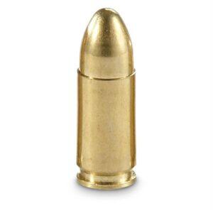 Winchester 9mm Range Ammunition FMJ 115 Grain 1190 fps 50 Rounds