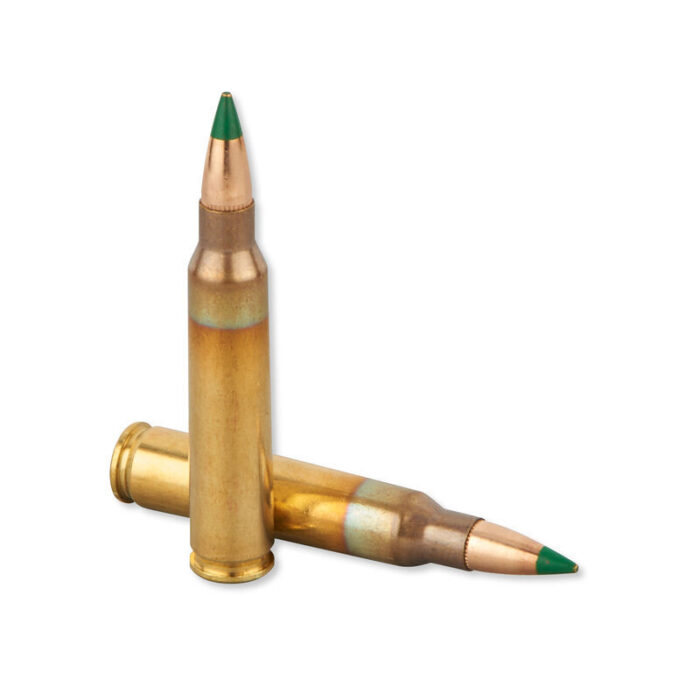 Lake City by Winchester M855 5.56 NATO SS109 Ammunition 20 Rounds FMJ 62 Grains Green Tip LCWM855
