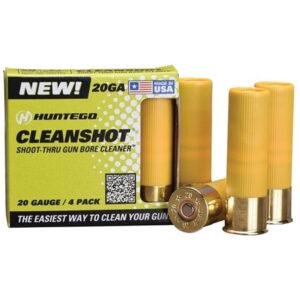 Huntego Cleanshot 20 Gauge Gun Bore Cleaner 4 Pack