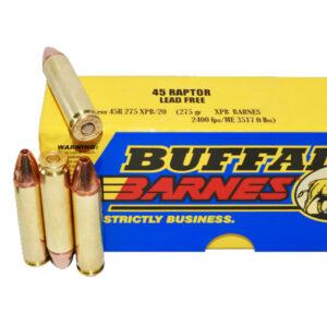 Buffalo Bore .45 Raptor Ammunition 20 Rounds XPB 275 Grains