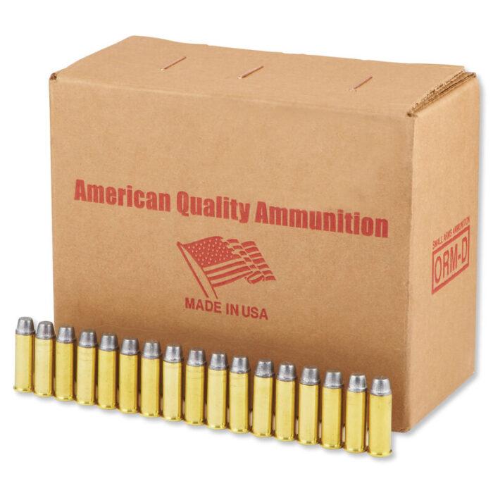 American Quality .44 Magnum Ammunition 250 Bulk Rounds LSWC 240 Grains N44M240VP250