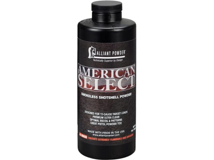 Alliant American Select Smokeless Gun Powder