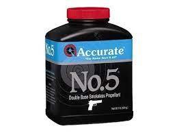 Accurate No. 5 Smokeless Gun Powder